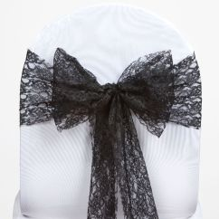 Scuba Chair Covers Wholesale Eames Reproduction 50 Wedding Lace Sashes Bows Ties Party Reception