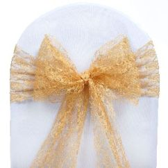 Cheap Burlap Chair Sashes Folding Boat Chairs 50 Wedding Lace Bows Ties Party Reception
