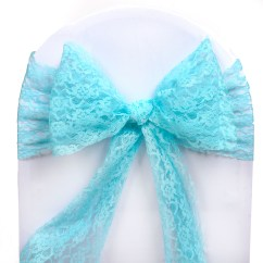 Scuba Chair Covers Wholesale Lift Recliner Chairs Medicare 50 Wedding Lace Sashes Bows Ties Party Reception
