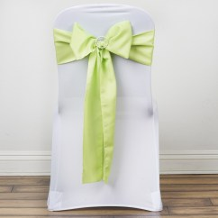 Polyester Chair Sashes Wholesale Neutral Posture Assembly 100 Bows Ties Wedding Party