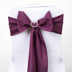 Polyester Chair Sashes Wholesale Upholstered Counter Height Chairs With Arms 100 Bows Ties Wedding Party