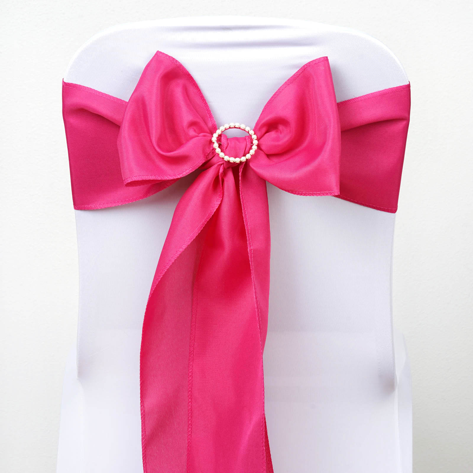 polyester chair sashes wholesale sling material 100 bows ties wedding party