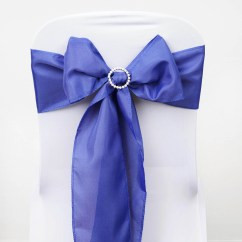 Wedding Chair Covers With Bows Pool Spectator 100 Polyester Sashes Ties Party