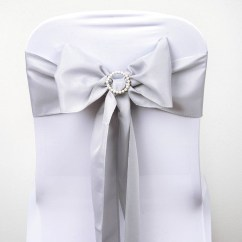 Bow Ties For Chairs Kohls Butterfly Chair 150 Polyester Sashes Bows Wedding Party Banquet