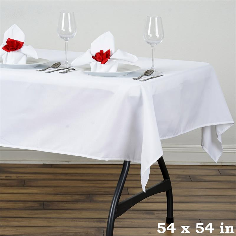 54 Inch Square Tablecloth