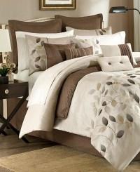 JLA Home Serene Queen 12 Piece Embroidered Comforter Set ...