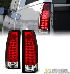 details about 1988 1998 chevy silverado suburban tahoe sierra c10 red lumileds led tail lights [ 1000 x 1000 Pixel ]