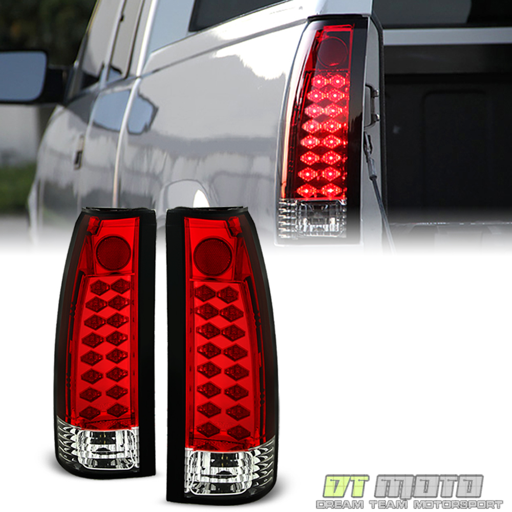 hight resolution of details about 1988 1998 chevy silverado suburban tahoe sierra c10 red lumileds led tail lights