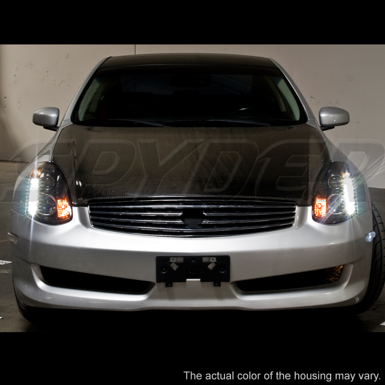 20032006 Infiniti G35 Coupe Euro LED Strip Projector