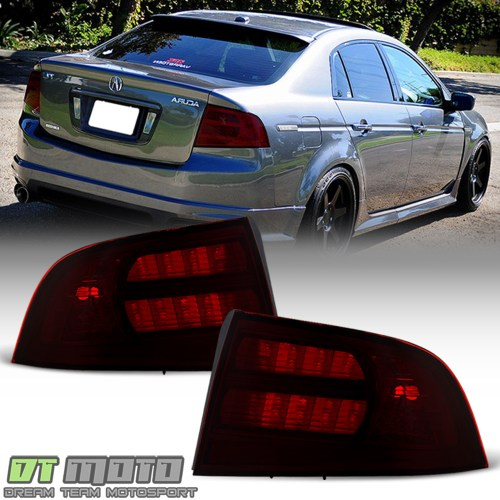 small resolution of details about red smoke 2004 2005 2006 2007 2008 acura tl type s tail lights lamps aftermarket