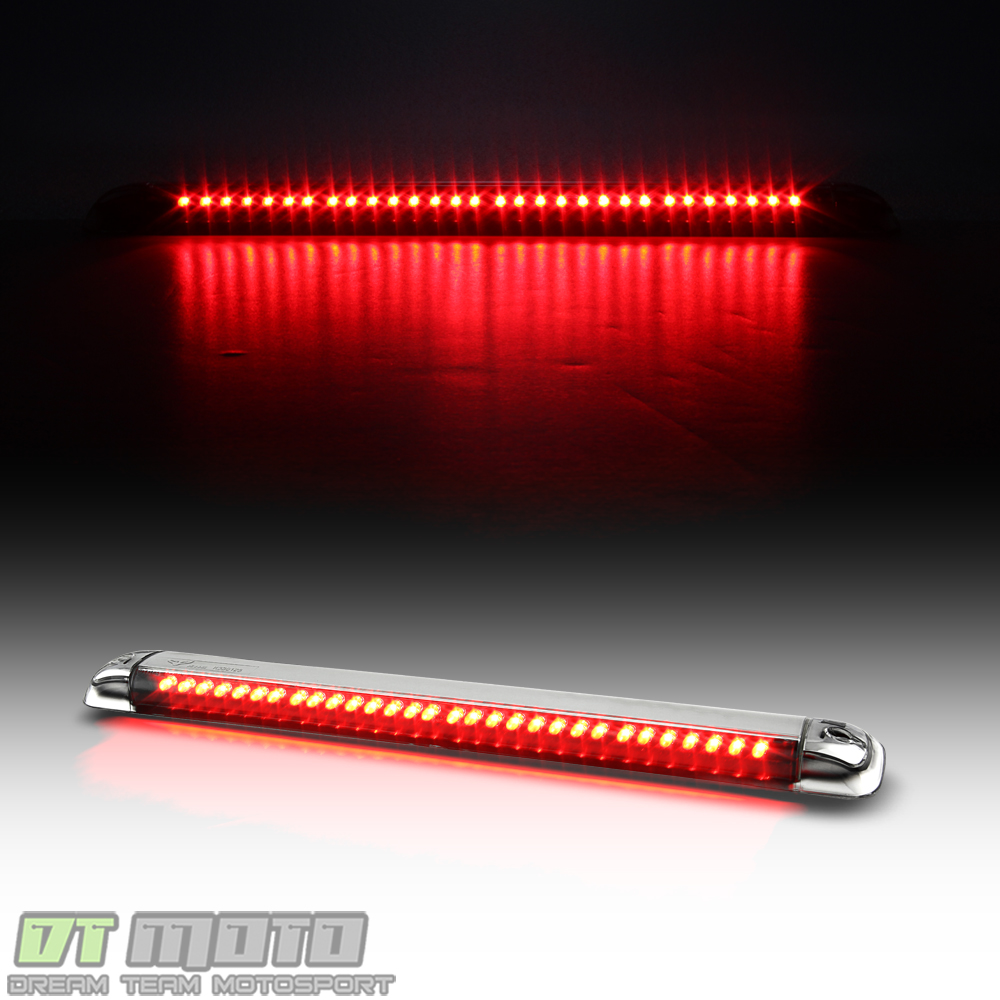 hight resolution of details about fits suburban jimmy yukon s10 blazer tahoe h2 led 3rd tail brake light stop lamp