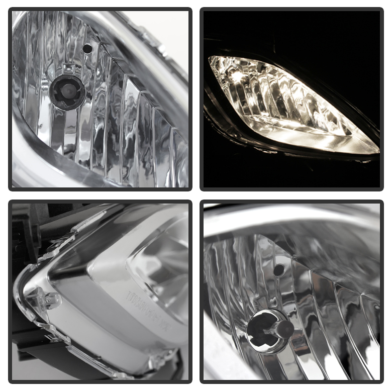 Off Road Led Lights With Wiring Harness 2011 2013 Hyundai Elantra Sedan Oem Style Bumper Fog