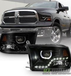 compatible with 2009 2010 dodge ram 1500 [ 1000 x 1000 Pixel ]