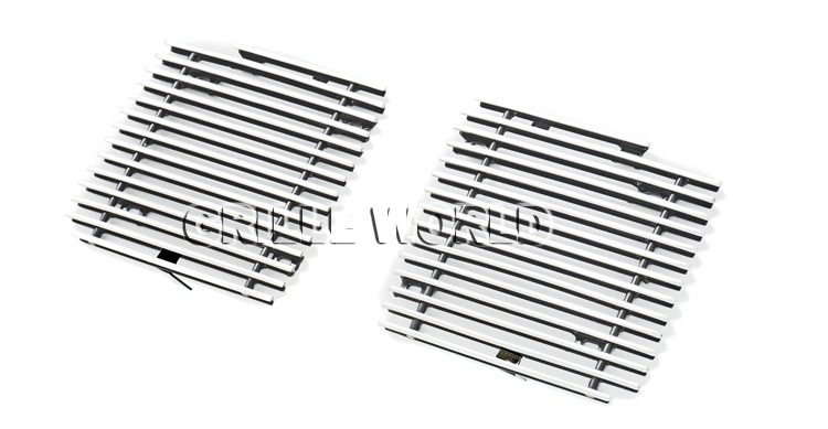 Fits 2003-2007 Cadillac CTS Fog Light Cover Billet Grille