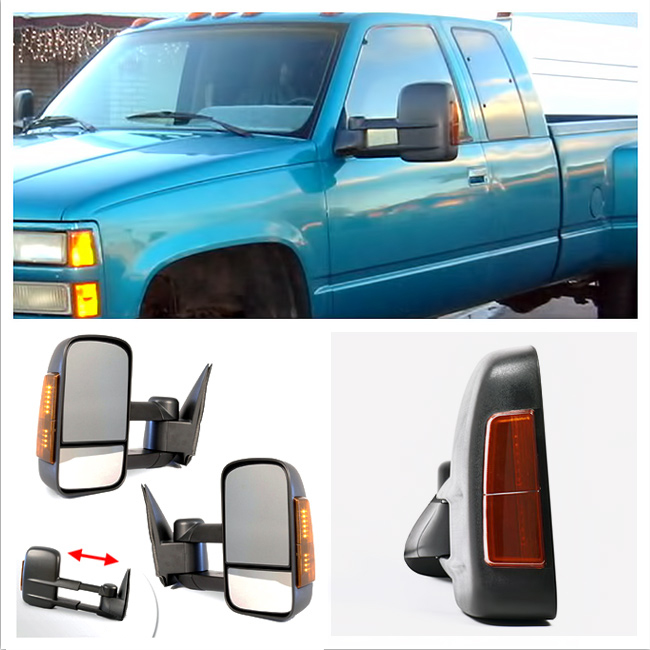 Chevy Silverado Power Towing Mirrors Ebay