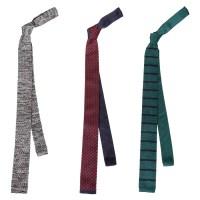 BMC Stylish 3pc Mixed Pattern Mens Fashion Knitted Neck ...
