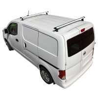 White J1000 2 Bar ladder roof rack for a Nissan NV200 2013 ...
