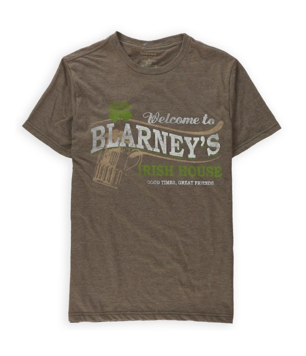 Sonoma Life Style Mens Blarney' Graphic T-shirt