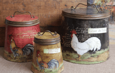 27+ Sophisticated Country Kitchen Canisters That Will Melt Your Heart