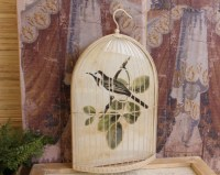 Shabby Cottage Chic Bird Cage Print Home Decor Wall Art | eBay
