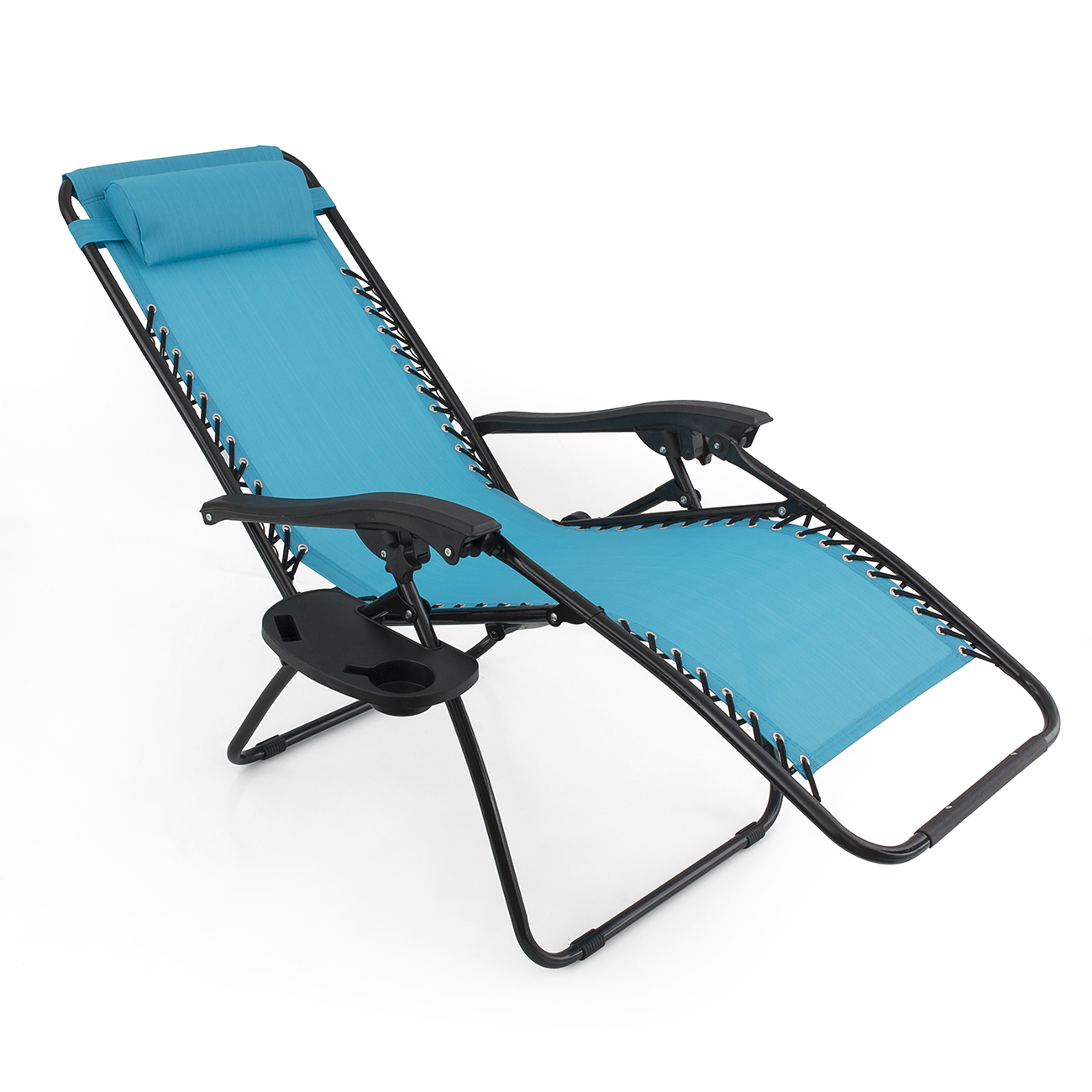 Folding Lounge Beach Chair 2 Folding Zero Gravity Reclining Lounge Chairs 43utility