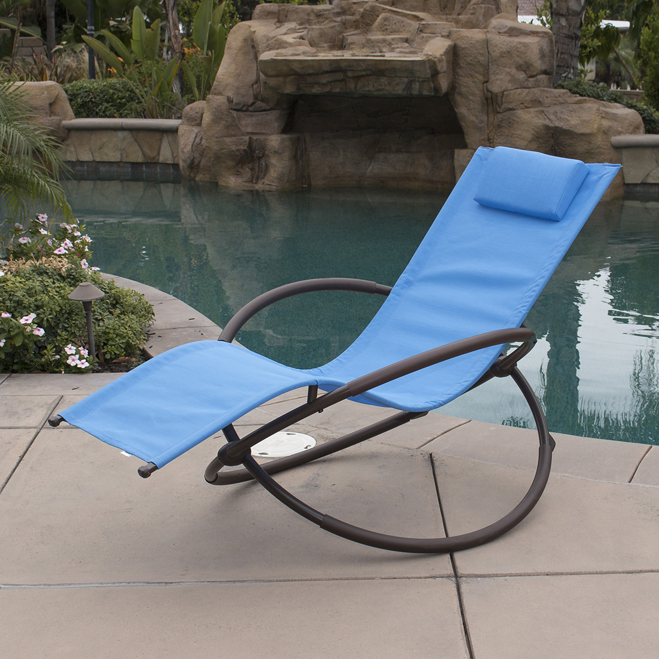 Pool Deck Chairs 7 Color Orbital Zero Anti Gravity Lounge Chair Beach Pool