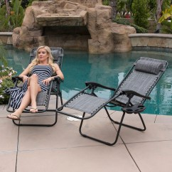 Zero Gravity Reclining Outdoor Lounge Chair 2 Pack Expensive Dining Chairs Folding 43utility