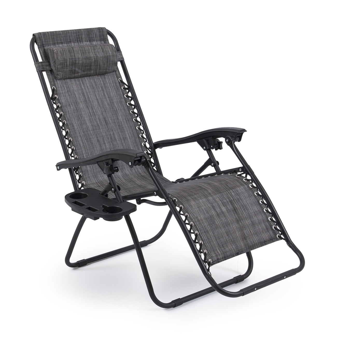 2 Folding Zero Gravity Reclining Lounge ChairsUtility