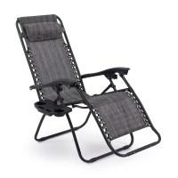 2 Folding Zero Gravity Reclining Lounge Chairs+Utility ...