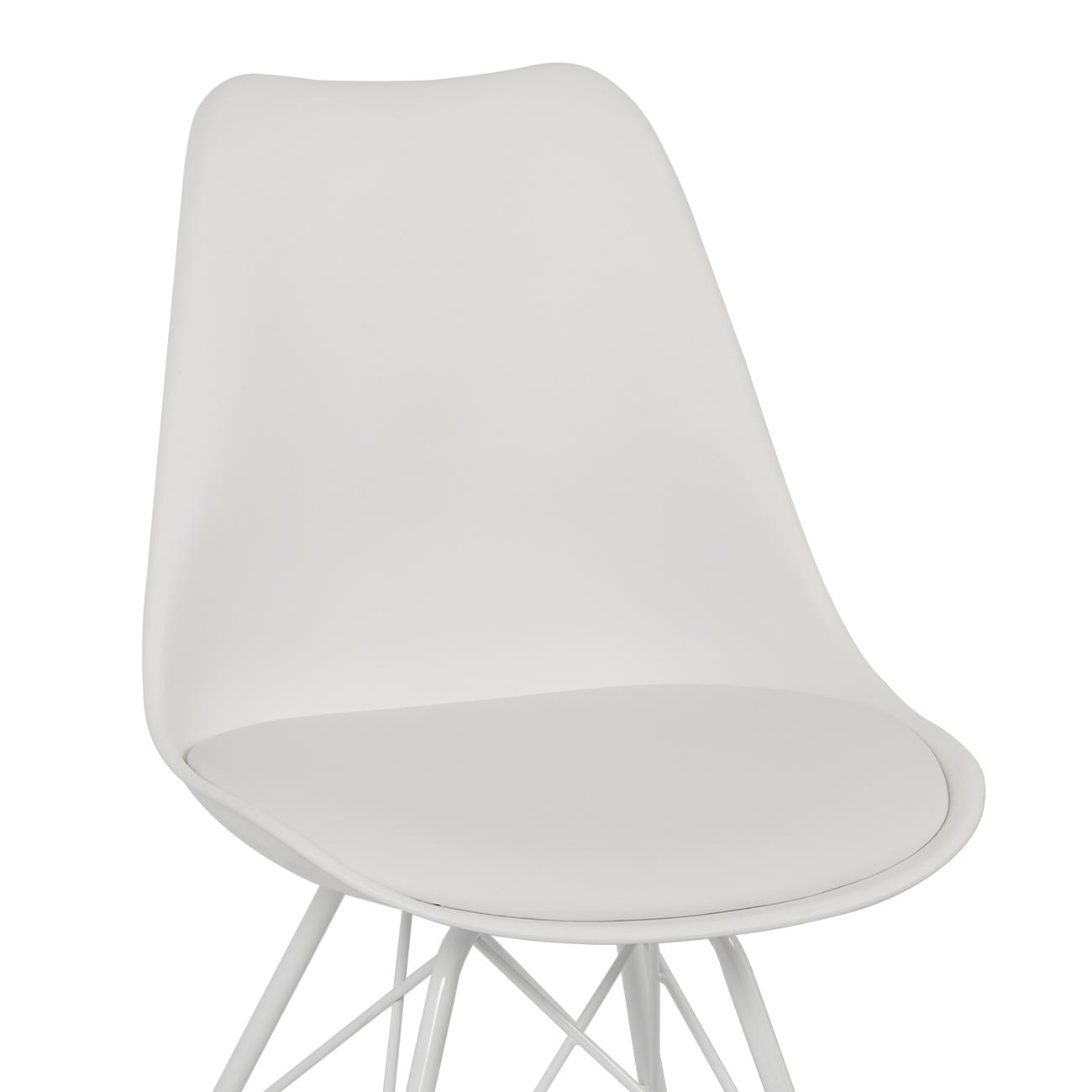 eames chair cushion leckey bath 2x eiffel dsw dsr dining lounge modern pu