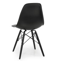 Set of 4 Mid Century Modern Eames Style DSW Dining Side ...