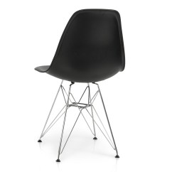 Eames Style Plastic Chair Round Hanging From Ceiling 2x Dsw Modern Eiffel Side Molded Abs