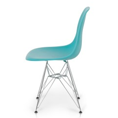 Modern Plastic Chair Craft Room 2x Style Dsw Eiffel Side Molded Abs