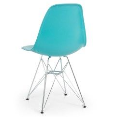 Eames Style Plastic Chair Modern Reception Chairs 2x Dsw Eiffel Side Molded Abs