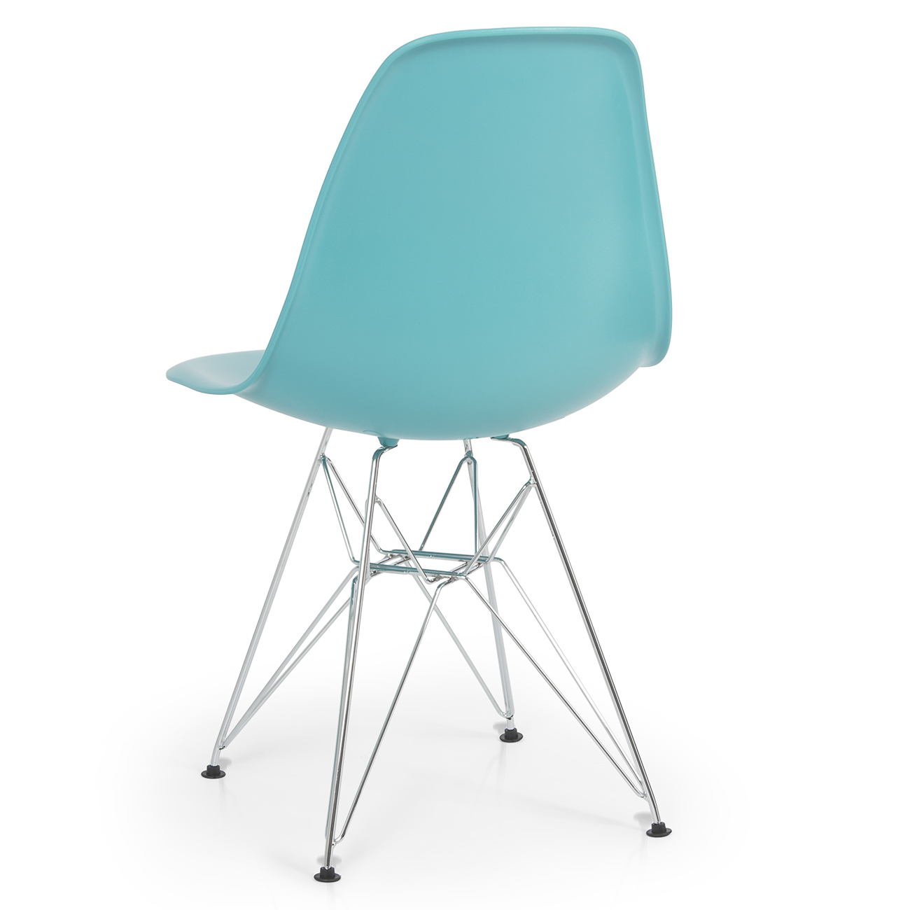 Modern Plastic Chairs 2x Eames Style Dsw Modern Eiffel Side Chair Molded Abs