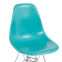 Eames Style Plastic Chair Double Canopy 2x Dsw Modern Eiffel Side Molded Abs