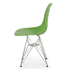 Eames Style Plastic Chair Sears Accent Chairs 2x Dsw Modern Eiffel Side Molded Abs