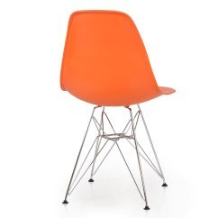 Eames Style Plastic Chair Personalized Directors 2x Dsw Modern Eiffel Side Molded Abs