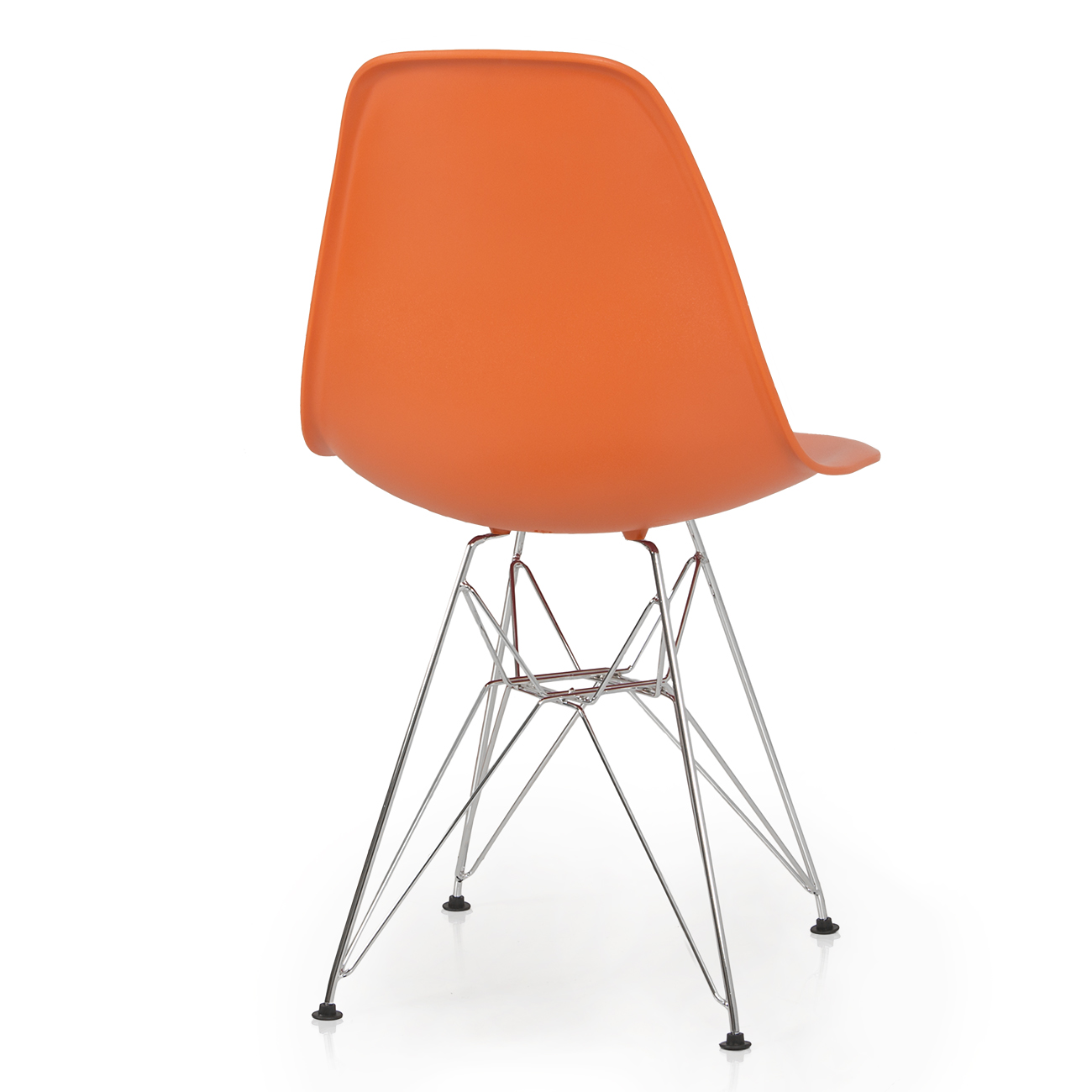 Modern Plastic Chairs 2x Style Dsw Modern Eiffel Side Chair Molded Abs Plastic