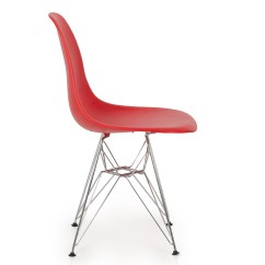 Modern Plastic Chair Ikea Lerhamn Covers 2x Eames Style Dsw Eiffel Side Molded Abs