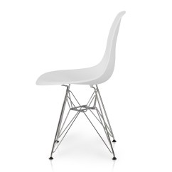 Modern Plastic Chair The Empty Gospel Song 2x Eames Style Dsw Eiffel Side Molded Abs
