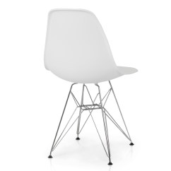Modern Plastic Chair Hanging Chairs For Kids 2x Eames Style Dsw Eiffel Side Molded Abs