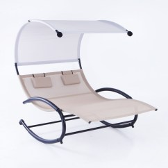 Lounge Chair With Canopy Chairs For Living Room In Nigeria 2 Person Swing W Sun Shade Rocking