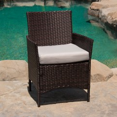 Outdoor Wicker Sofa Cushions What Is Better A Futon Or Bed 4 Pc Rattan Furniture Set Patio Garden Sectional