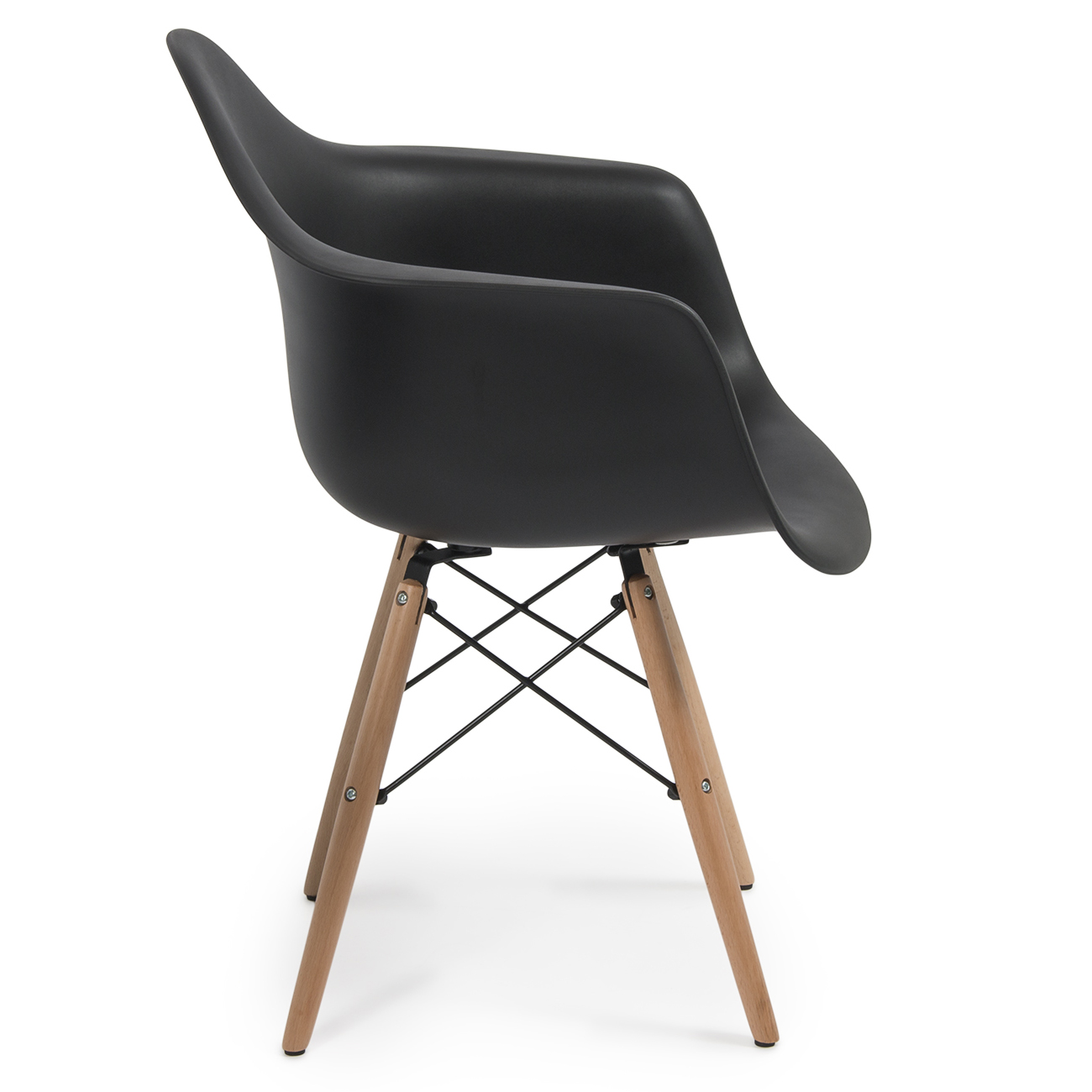eames arm chair what s a dip set of 2 dsw style armchair legs mid