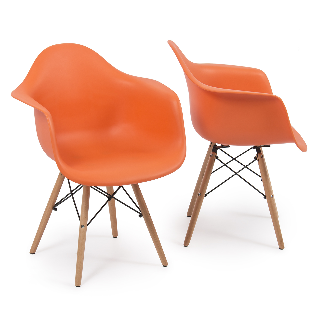 eames arm chair glider canada set of 2 dsw style armchair legs mid