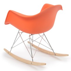 Retro Rocking Chair Eames Replica Lounge Dsw Style Modern Arm Rar Rocker Chairs