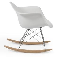 Modern Rocking Chair Singapore Barrel Chairs Ikea Rar Style Mid Century Molded Plastic Rocker