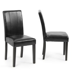 Parson Dining Room Chair Sets Cheap Pine Table And Chairs Elegant Modern Parsons Leather Living