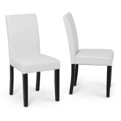 Contemporary Leather Dining Chairs Swivel Chair Kid Elegant Modern Parsons Living Room
